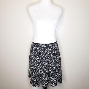 Minoprix Autre Ton pleated butterfly mini skirt